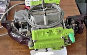 Offenhauser 2 0 Pinto Intake Manifold With 390 Holley Carb