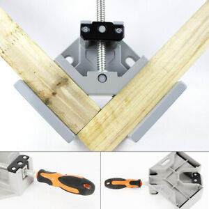 New 1x Right Angle 90 Degree Corner Vice Clamp Woodworking Metal Welding Tool Us