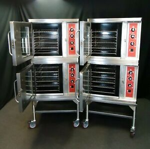 Blodgett Ctb 1 Half Size Electric Commercial Double Convection Oven 208v 1 3 Ph