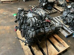 2008 2009 Ford Mustang Roush 4 6l Supercharged Engine Manual Transmission Swap