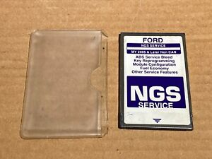 Ford Hickok Ngs Obd Ii purple 2005 Later Non Can Service Card Version 15 0