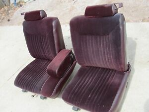 78 88 Cutlass Monte Carlo Regal Front 60 40 Bench Seat nice