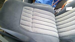 1992 Chevy Pickup 1500 Front Seats Pair Set Right Left Bucket Blue Cloth