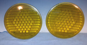 Pair Of Model T Colored 9 Headlight Lens