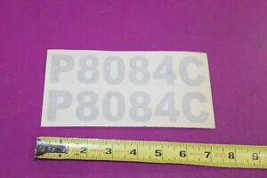 Montana Tractor P8084c Decals Acquired From A Closed Dealership See Pic