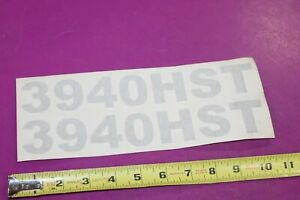 Montana Tractor 3940hst Decals Acquired From A Closed Dealership See Pic
