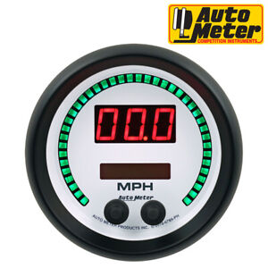 Autometer 6789 ph Phantom Programmable Speedometer Digital Gauge 260mph 260km h