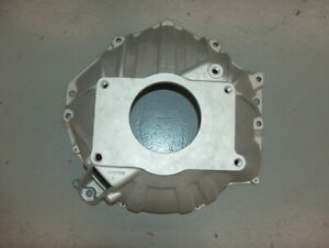 Chevy V8 Monza Aluminum 4 Speed Bell Housing V8 354496 Cable Linkage Bare Blem
