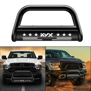 For 2019 2021 Dodge Ram 1500 3 Kyx Bull Bar Brush Grille Guard Front Bumper