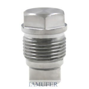Stainless Steel Fuel Rail Plug Pressure Relief Valve For Duramax 6 6l