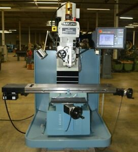 2015 Southwestern Industries Dpmsx3p Bed Mill With Prototrak Smx Cnc Control