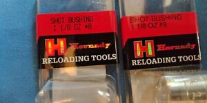 Hornady Shot Charged Bushing 1 1 8 oz #8 Lot Of 2 $14.99