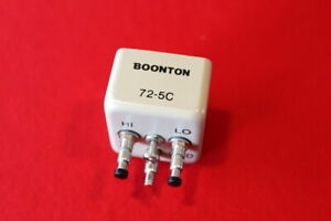Boonton 72 5c Clip Style Test Port Adapter For Capacitance Meters