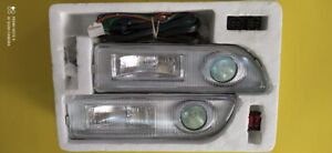 Jdm Toyota Corolla Ae101 Ae100 Front Bumper Foglights Foglamps 91 97
