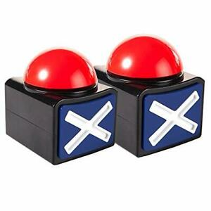 2 Pieces Game Answer Buzzer For Kids Adult Alarm Button Box With Sound And Li
