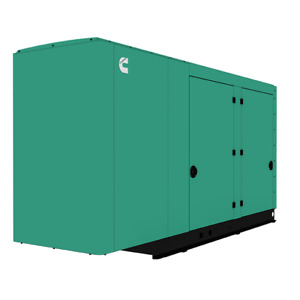 Cummins Power Quiet Connect 150kw Ng lp Liquid Cooled Standby Generator