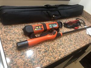 Vipermag Vip Mag Rx Multi frequency Pipe Cable Locator Magnetic Locating System