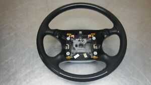 Ford Mustang Leather Wrapped Steering Wheel 94 98 99 04 Black