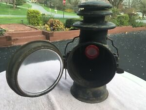Antique Dietz Union Driving Lamp Light Lantern Vintage Auto
