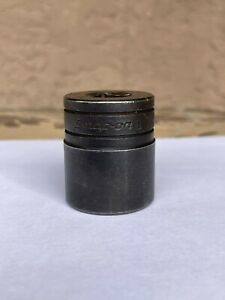 Snap on 1 Gtw321 Sae Industrial Finish Socket 1 2 Drive 6 point Non Impact