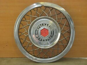 1956 Packard Or Clipper Rare Accessory Wire Wheel Covers One Pair