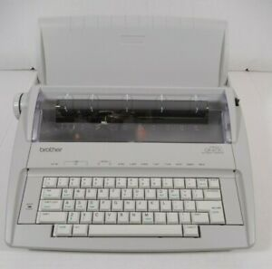 Brother Gx 6750 Daisy Wheel Electric Correctronic Typewriter tested Working