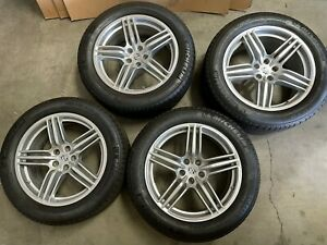 Porsche Factory Takeoffs Oem Macan 19 Staggered Wheels Rims W Tires Tpms Silver