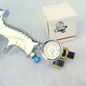 Air Control Pressure Gauge Compressor regulator For Devilbiss Iwata spray gun