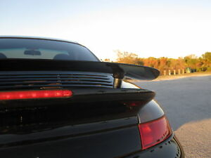 Porsche 996 Turbo Fixed Spoiler Wing Kit Extra Tall