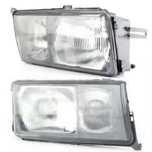 Left right Front Headlights For 1984 1994 Mercedes Benz W201 190e 190d Models