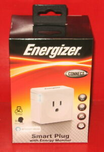 Energizer Connect Smart Plug No Hub Required W Energy Monitor Works With Alexa