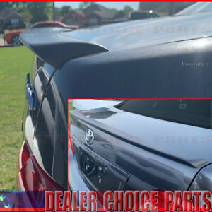 For 2009 2010 Toyota Corolla Jdm Lip Factory Style Trunk Spoiler Wing Unpainted