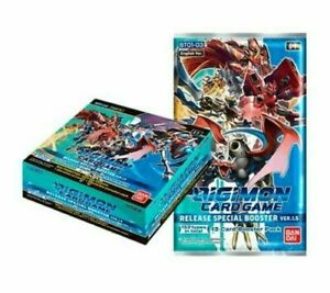 Digimon Card Game 2021 CCG Special Booster Box V 1.5 English Sealed PRIORIY MAIL $159.39