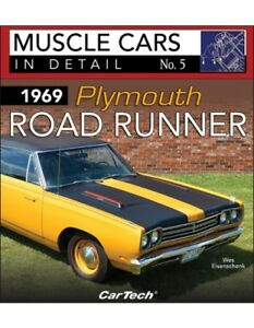 1969 Plymouth Road Runner Book muscle Cars In Detail No 5 road Runner Mopar new