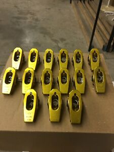 Crane Gold Roller Rockers Bbc 7 16 Stud Part 13750 Only 15 Rocker Arms15polyloc
