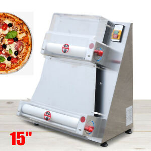 Dough Rolling Machine Sheeter 15 Pizza Cake Bottoms Rounding Commercial