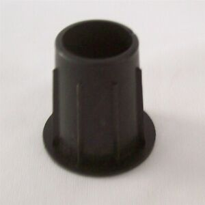 Store Fixture Supplies New 5 Poly Plugs For Mannequin Heads Black