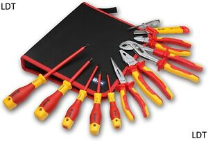 Booher 0200102 11 piece 1000v Insulated Tool Set New