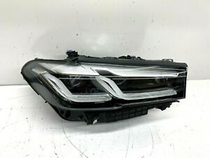 Mint 2021 Bmw 5 series G30 Lci Facelift Right Passenger Oem Full Led Headlight