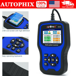 Autophix 7610 For Audi Vw Seat All System Scanner Abs Tpms Throttle Diagnostic