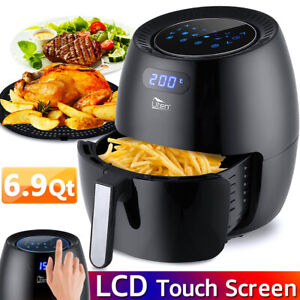 6 9qt Large Capacity Uten Air Fryer Oven 1700w 8 in 1 Led Display Touchscreen