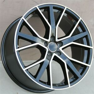 Set 4 20 20x9 5x112 New Rs Style Wheels Rims Audi Q5 A8 A5 S4 S5 Rs4 A4 R8 A6