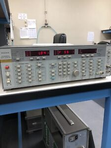 Wiltron 6669m Programmable Sweep Generator 10mhz 40ghz