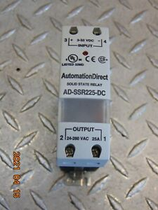 Automation Direct Ad ssr225 dc Solid State Relay free Shipping