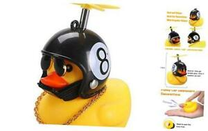 Rubber Duck Toy Car Ornaments Yellow Duck Car Dashboard Decorations 8 Black