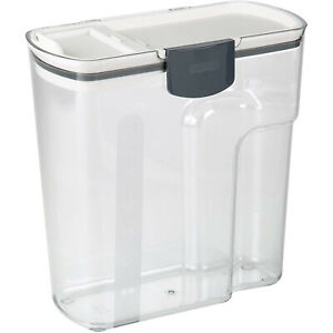 PrepWorks by Progressive 4.5 Qt Plastic Cereal Keeper Container Clear Used $14.99