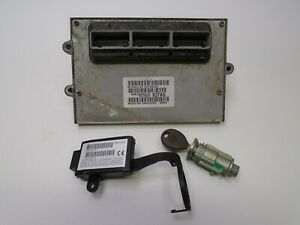 00 Jeep Grand Cherokee 4 0 Ecu Ecm Computer Immobilizer Key 56041637ag