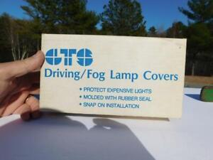Nos Vintage Gts Driving Fog Lamp Covers Hella 995c 4 Clear Cover Auto Part