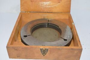 5 5 4 Thread Ring Gage No Go 4 8435 Inspection Machinist Tooling