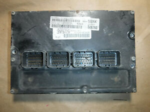 2005 Jeep Grand Cherokee Engine Computer a38 z 56044552ak